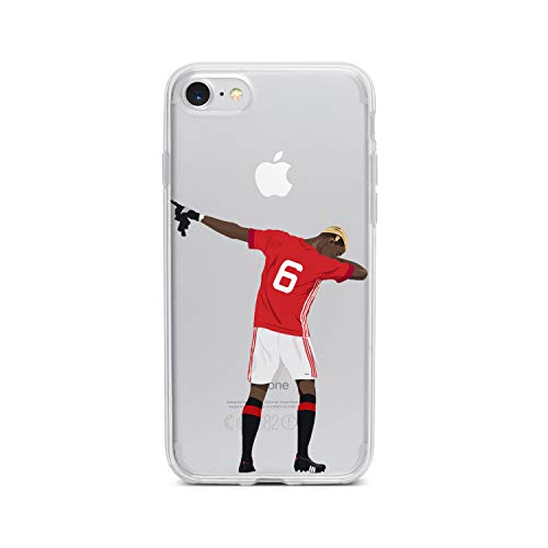 iPhone 6/6S Cover/Custodia Calcio - Paul Pogba - Dab - Manchester United