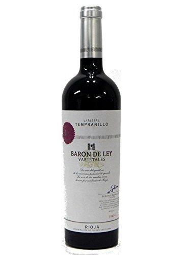 Barón De Ley Varietales Tempranillo 2012, Vino, Tinto, Rioja, España