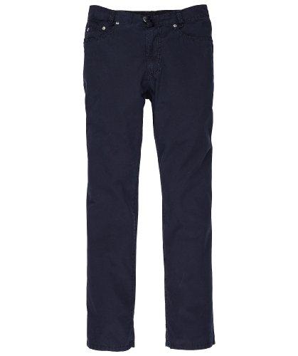 JOKER Jeans Harlem Walker Sommergabardine dunkelblau + Royalblau Marine
