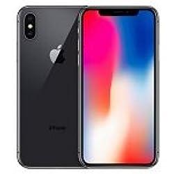 """Apple iPhone X - Smartphone DE 5.8"""" (4G, RAM de 64 GB, Camara de 12 MP, iOS) Color Gris"""