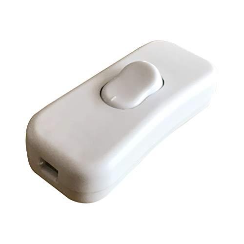 Yardwe Conmutadores de Cable en línea Conmutador de luz de cabecera 250...