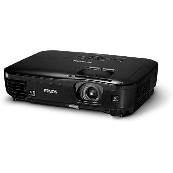 Epson EH-TW480 LCD-Projektor (Kontrast 3.000:1, 2.800 ANSI Lumen, HD Ready mit 1280 x 720 Pixel) schwarz