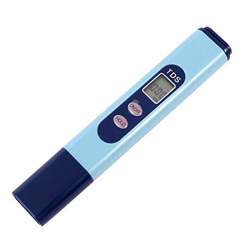 Shentesel TDS-Tester mit LCD-Digitalanzeige, Reinheitsfilter, Wasserqualität, Teststift - Blau