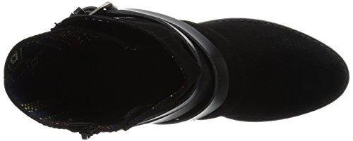 Blowfish Alias Damen Rund Faux Wildleder Mode-Stiefeletten Black Fawn