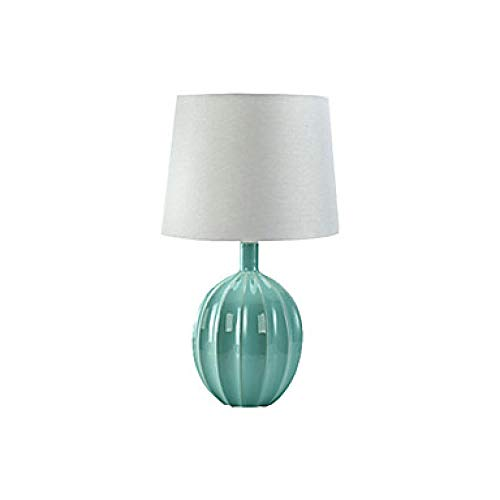 Minimalistische Tischleuchte Umgebungslicht Schreibtischleuchte Antike Tischlampe für Schlafzimmer Arbeitszimmer Stoff Klassische Tischlampe