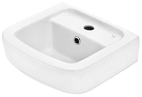 Cornat Handwaschbecken ONDO 350 mm, weiß / Waschtisch / Hängewaschbecken / Waschplatz / Waschschale / Badezimmer / HWBONDCBD3500
