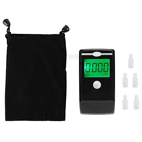 Schwarzes hochpräzises tragbares digitales Alkohol-Atem-Prüfgerät-Detektor-Analysator-sicheres Fahrwerkzeug