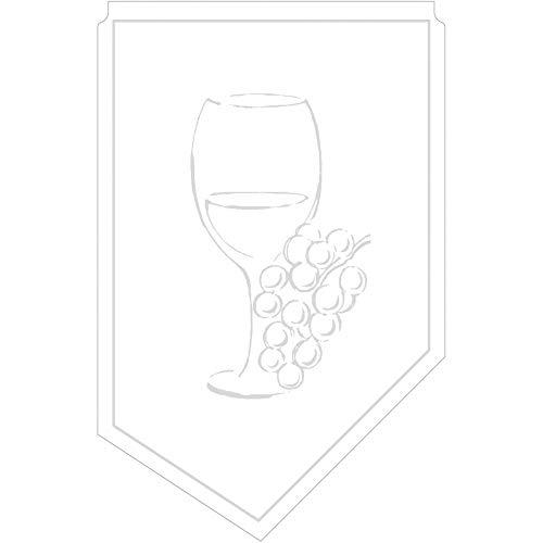 Weinmanschette Romeo aus Tissue 9-lagig, 100 x 65 mm, 150 Stück