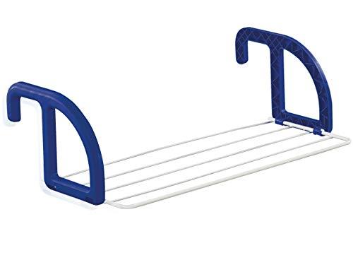 Leifheit 83046 6644-Tendedero de balcón 25, Varillas Protectoras contra Rayos UV, 55x22x2.5 cm