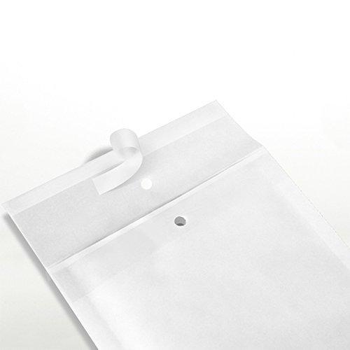 50 x Luftpolstertaschen Gr. B/2 (140x225 mm) DIN A6+ C6+ WEISS - Marken-Qualität von OfficeKing® (Münze Umschläge 2x2)