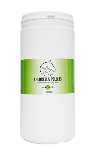 ALGOMED Chlorella Pellets/Einzelfuttermittel für Tiere (1000 g)