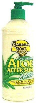 Banana Boat Lotion hydratante Après-soleil - À l'aloès - #008 - Flacon pompe de 475 ml (Lot de 3)