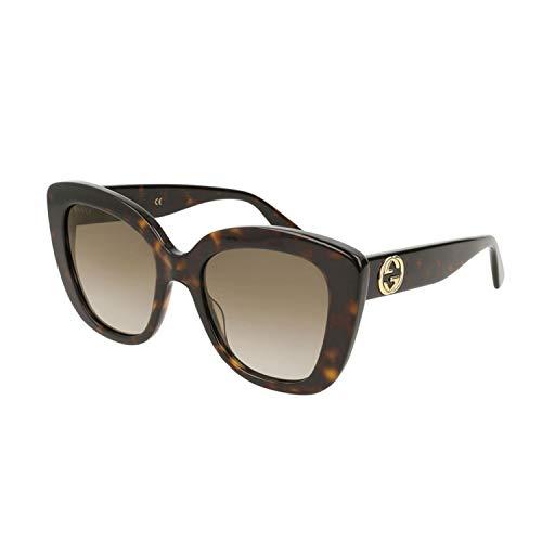 Gucci Sonnenbrillen (GG-0327-S 002) dunkel havana - grau-braun verlaufend