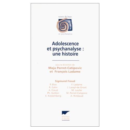 Adolescence et psychanalyse : Une histoire
