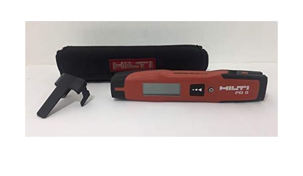 Hilti Pd5 Laser Entfernungsmesser : Hilti pd laser entfernungsmesser messgerät m mm u nm
