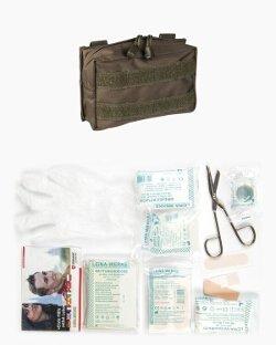 """G8DS® Erste-Hilfe-Set """"Leina"""" Pro Oliv 25-tlg Camping First Aid Kit"""