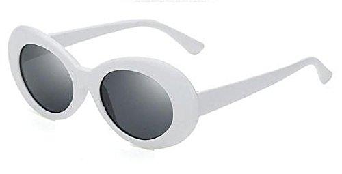 Occhiali da sole retrò bianchi