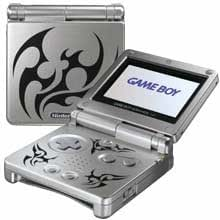 GameBoy Advance - Konsole GBA SP #Tribal Edition AGS-101