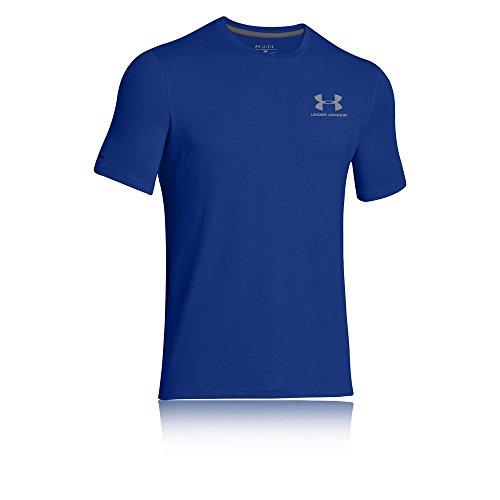 Under Armour Herren Fitness Cc Left Chest Lockup Kurzarm T-Shirt, Blau Royal/Steel, LG