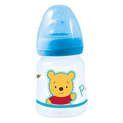 Biberón cuello ancho 150 ml tenina silicona 3 posiciones Winnie Baby Azul Homemade Hugs (12/144)