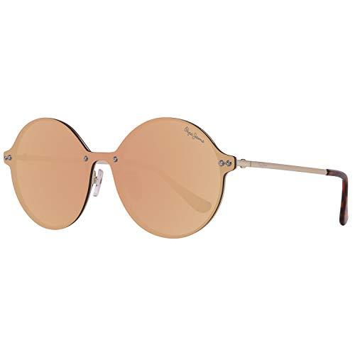 Pepe Jeans Unisex-Erwachsene PJ5135C2140 Sonnenbrille, Gold, 140