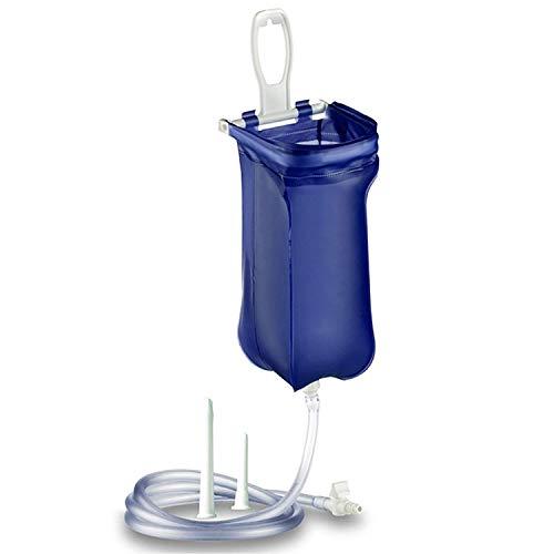 Wiederverwendbarer Home Enema Kit 2 Liter Beutel Mit Schlauch Zur Darmreinigung, Bewässerung Und Entgiftung