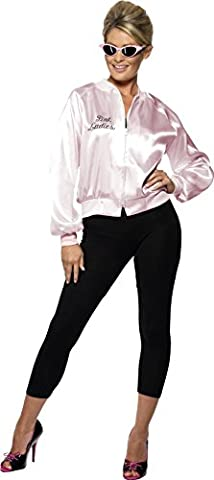 Pink Lady Rose - Smiffys Déguisement Femme Pink Lady, Veste, Taille