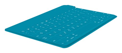 Logitech Keys-To-Go - Teclado QWERTY ultraportátil para Apple iPad, iPhone, Apple TV, Verde Azulado - QWERTY Español