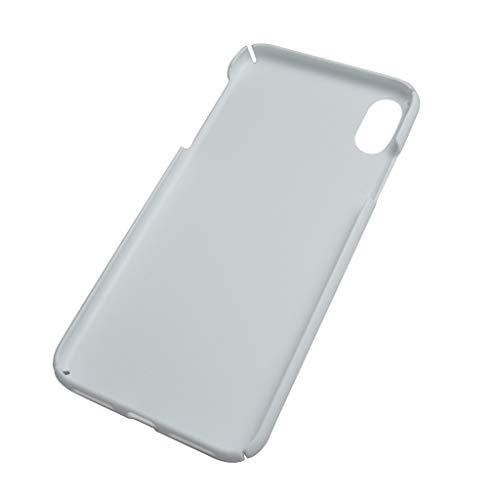 Finebuying DIY Customizable Patterns Hard Skin Hülle für iPhone X   DIY Telefon Protecte Abdeckung (Weiß) - Hard Skin Iphone Fall
