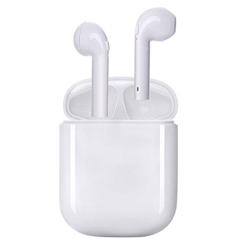 Beverly Windows (écouteurs sans fil, Écouteur Bluetooth 4.1, intra-auriculaires de Sport Oreillette Sans Fil Stéréo compatible avec Apple iPhone, Android, Windows Smartphone et autres Appareils Bluetooth (Blanc) …)