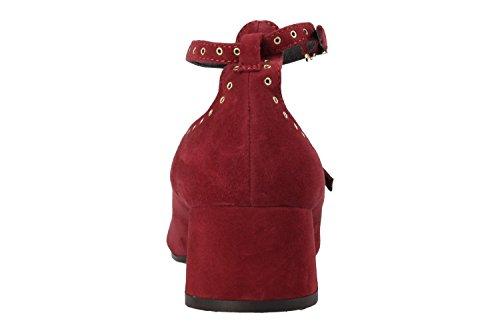 BRUNO PREMI Schuhe Red N3501 Camoscio Porpora Rot