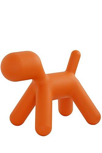Puppy-M-Chien-orangematire-plastiqueTaille-2LxPxH-565x34x45cm
