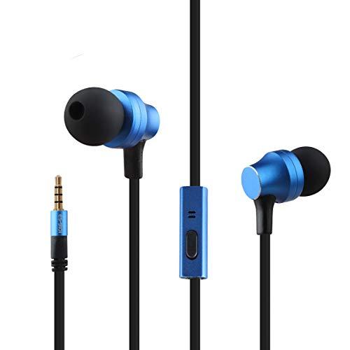 QINPIN HiFi Music 3.5 mm In-Ear-Kopfhörer mit Metall-Upgrade-Version der Turbinenleitungssteuerung