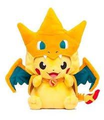 12inch Pokemon Center Mega Tokyo Pikazard Pikachu Charizard Plush Toys Doll by Aimee from japan