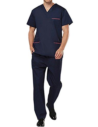 THEE Uniforme Médico Ropa Quirúrgica Bata Médico