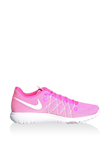Nike Flex Fury 2 (Gs), Chaussures de Running Entrainement Fille Rose - Rosa (Rosa (Pink Blast / White-Wolf Grey))