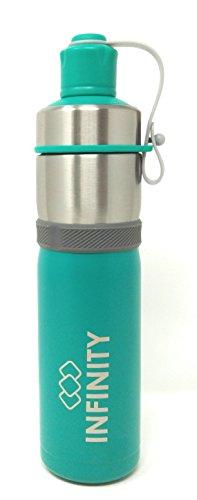 Preisvergleich Produktbild Infinity Einstein doppelwandig Isolierte Edelstahl-Flasche ml grün