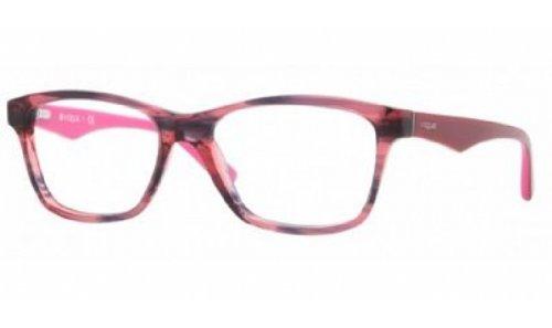 vogue-kunststoffbrille-vo-2787-2061-gr-51-in-black-striped-cherry-schwarz-pink