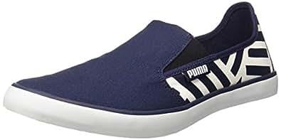 Puma Men's Auxius IDP Peacoat White Sneakers-10 UK/India (44.5 EU) (4060979674868)
