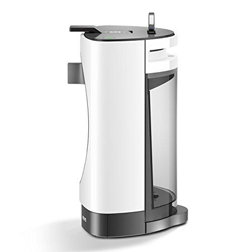 NESCAFÉ DOLCE GUSTO Oblo KP1101 Macchina per Caffè Espresso e altre bevande Manuale White di Krups + NESCAFÉ DOLCE GUSTO ESSENZA DI MOKA Caffè espresso 3 confezioni da 16 capsule (48 capsule)