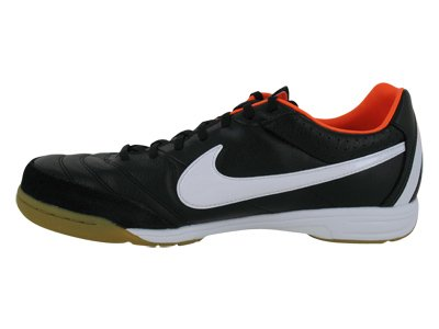 Nike - Mercurialx Victory VI IC - Scarpe Calcetto Indoor Nero (black/white/total orange)