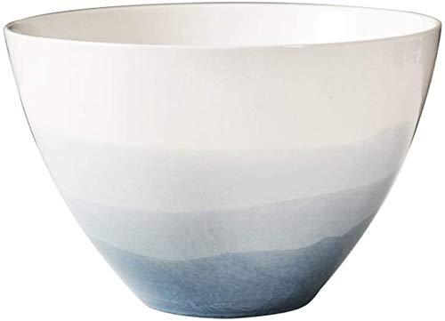 Yinuo 5,5 pouces 7 pouces 8 pouces en céramique Bowl Retro Saladier Pasta Bowl peut être Verser le riz, salades, crème glacée, etc. (Color : M(7 Inches))