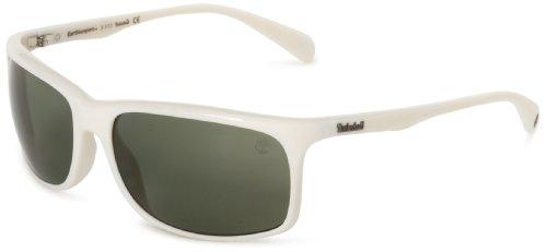Timberland sonnenbrille tb9002 6221r, occhiali da sole uomo, bianco (weiß), 62