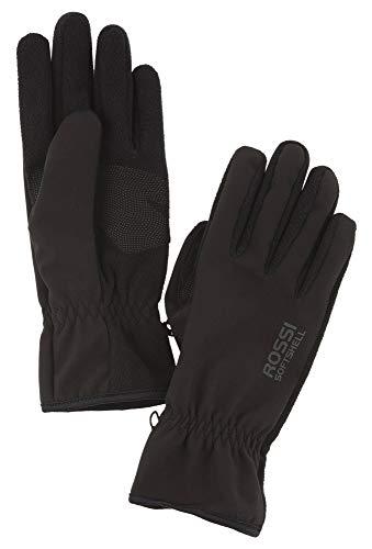 Vittorio Rossi Herren Softshell Handschuhe schwarz,10