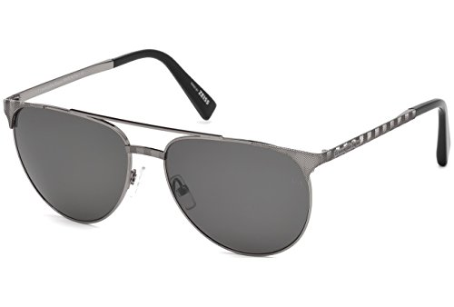occhiali-da-sole-polarizzati-ermenegildo-zegna-ez0040-c58-12d-shiny-dark-ruthenium-smoke-polarized