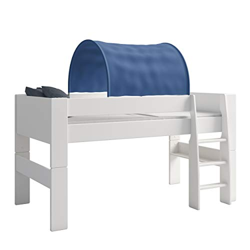 Tunnel Per Letto A Castello.Steens Furniture Tenda A Tunnel Per Letto A Castello Bambini Blu Blau
