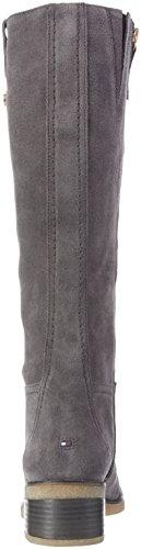 Tommy Hilfiger F1285lorence 1b, Bottes hautes avec doublure froide femme Gris - Grau (MAGNET 916)