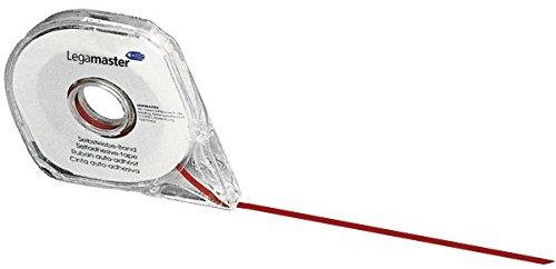 Legamaster 7-433302 Planungstafel Zubehör Aufteilungsband für Planungstafeln 3 mm x 8 m, wieder ablösbar, rot