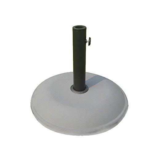 Papillon 8091075 – Base pour Parasol en Ciment, 26 kg/500 mm