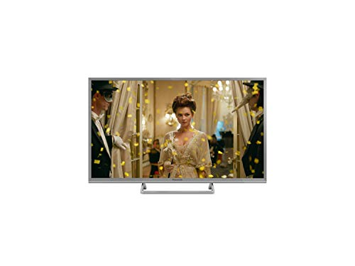 Panasonic TX-32FSW504S 32 Zoll Smart TV (80 cm, TV LED Backlight, HD, Quattro Tuner, HDR, silber) (Panasonic Tv Lcd 32)